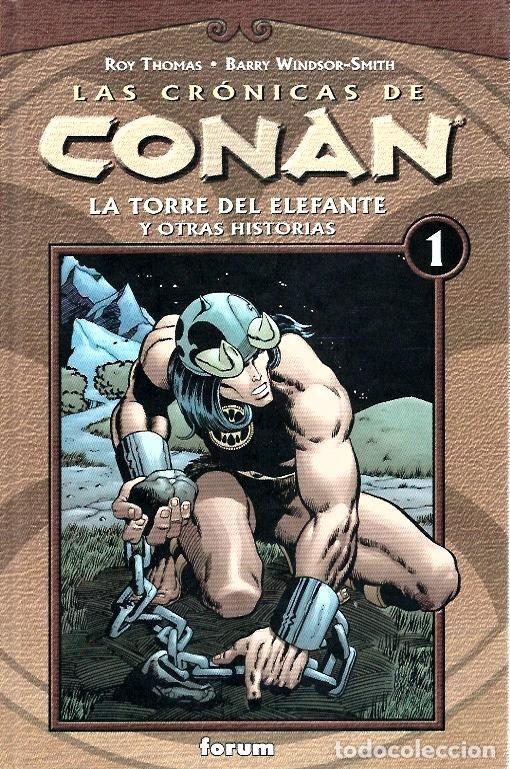 LAS CRÓNICAS DE CONAN, LOTE, DEL 1 AL 12 TOMOS. FORUM PLANETA DEAGOSTINI. (Tebeos y Comics - Planeta)