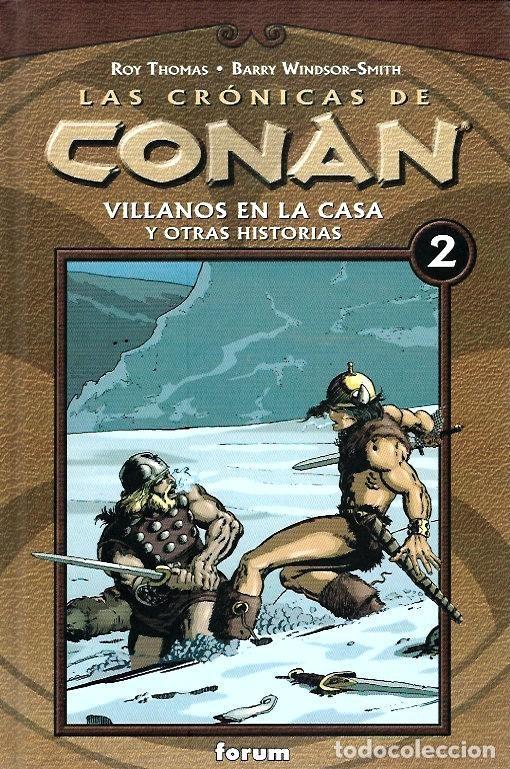 Cómics: LAS CRÓNICAS DE CONAN, LOTE, DEL 1 AL 12 TOMOS. FORUM PLANETA DEAGOSTINI. - Foto 2 - 253557870