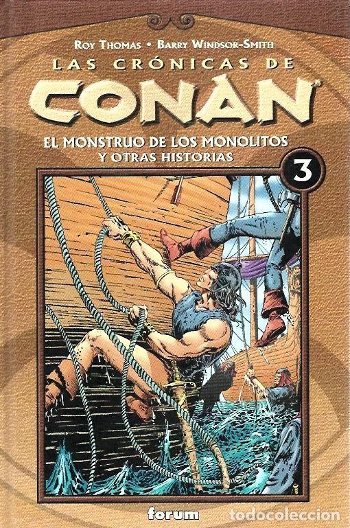 Cómics: LAS CRÓNICAS DE CONAN, LOTE, DEL 1 AL 12 TOMOS. FORUM PLANETA DEAGOSTINI. - Foto 3 - 253557870
