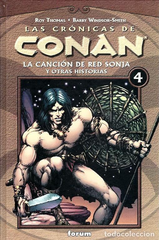 Cómics: LAS CRÓNICAS DE CONAN, LOTE, DEL 1 AL 12 TOMOS. FORUM PLANETA DEAGOSTINI. - Foto 4 - 253557870