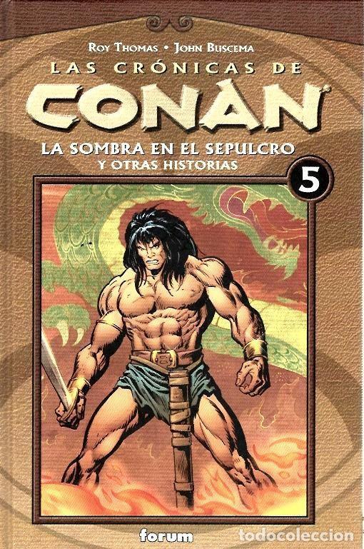 Cómics: LAS CRÓNICAS DE CONAN, LOTE, DEL 1 AL 12 TOMOS. FORUM PLANETA DEAGOSTINI. - Foto 5 - 253557870