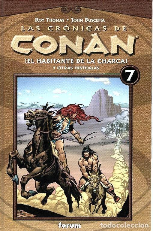 Cómics: LAS CRÓNICAS DE CONAN, LOTE, DEL 1 AL 12 TOMOS. FORUM PLANETA DEAGOSTINI. - Foto 7 - 253557870