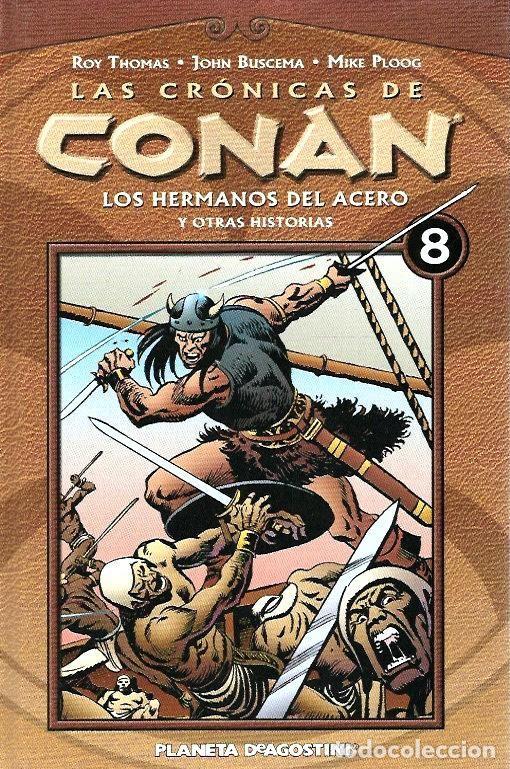 Cómics: LAS CRÓNICAS DE CONAN, LOTE, DEL 1 AL 12 TOMOS. FORUM PLANETA DEAGOSTINI. - Foto 8 - 253557870