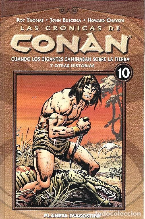 Cómics: LAS CRÓNICAS DE CONAN, LOTE, DEL 1 AL 12 TOMOS. FORUM PLANETA DEAGOSTINI. - Foto 10 - 253557870