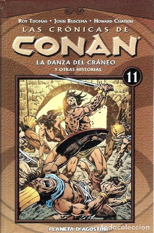Cómics: LAS CRÓNICAS DE CONAN, LOTE, DEL 1 AL 12 TOMOS. FORUM PLANETA DEAGOSTINI. - Foto 11 - 253557870