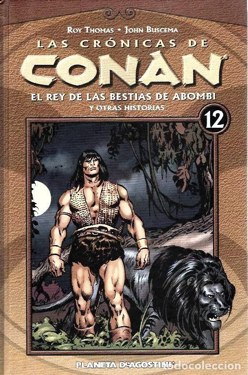 Cómics: LAS CRÓNICAS DE CONAN, LOTE, DEL 1 AL 12 TOMOS. FORUM PLANETA DEAGOSTINI. - Foto 12 - 253557870