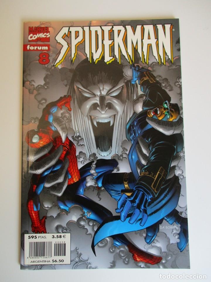 SPIDERMAN (1999, PLANETA-DEAGOSTINI) 8 · IV-2000 · SPIDERMAN (Tebeos y Comics - Planeta)