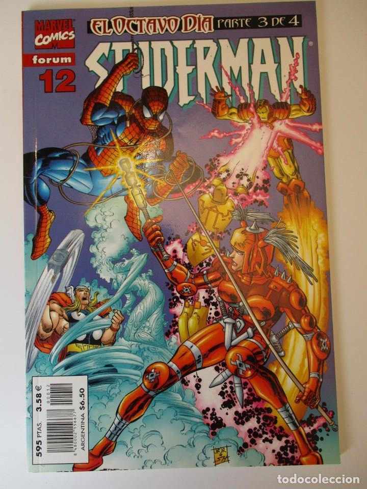 SPIDERMAN (1999, PLANETA-DEAGOSTINI) 12 · VIII-2000 · SPIDERMAN (Tebeos y Comics - Planeta)