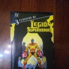 Cómics: LEGION DE SUPERHEROES #3 (CLASICOS DC). Lote 260709940