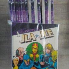 Cómics: CLÁSICOS DC :JLA/JLE COLECCIÓN COMPLETA-COMICS NUEVOS SIN LEER!!!!! 18 TOMOS. Lote 261294430