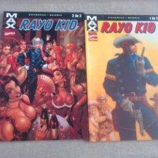 Cómics: RAYO KID COLECCIÓN COMPLETA-DOS TOMOS. Lote 261297865