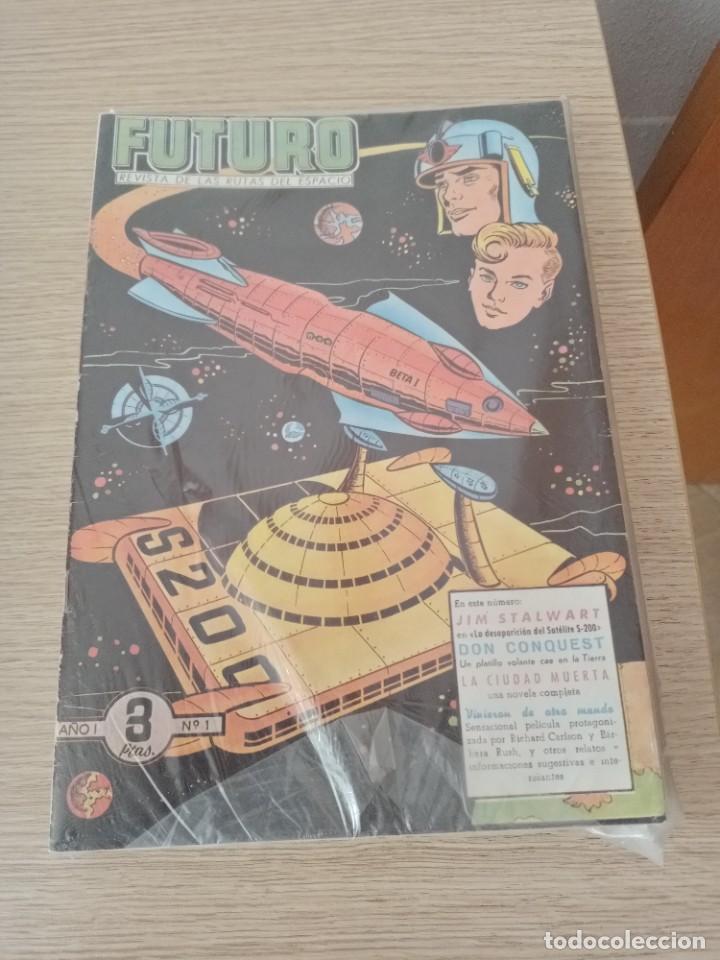 J FUTURO. REVISTA DE LAS RUTAS DEL ESPACIO NUMEROS 1 A 20 (COMPLETA)(CLIPER) (Tebeos y Comics - Planeta)
