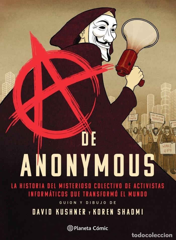 A DE ANONYMOUS D. KUSHNER / K. SHADMI PLANETA COMIC (Tebeos y Comics - Planeta)