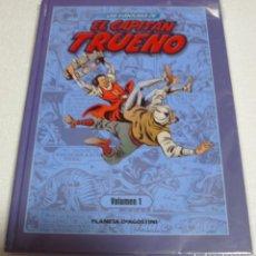 Cómics: EL CAPITAN TRUENO LAS AVENTURAS-PLANETA TOMO 1 SIN USO-IMPORTANTE LEER DESCRIPCIÓN. Lote 262305775