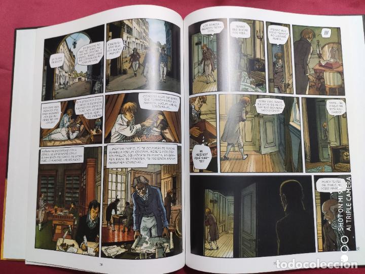 Cómics: DOBLE MASCARA . 3. EL CHIFLADO. DUFAUX. PLANETA - Foto 2 - 262327845