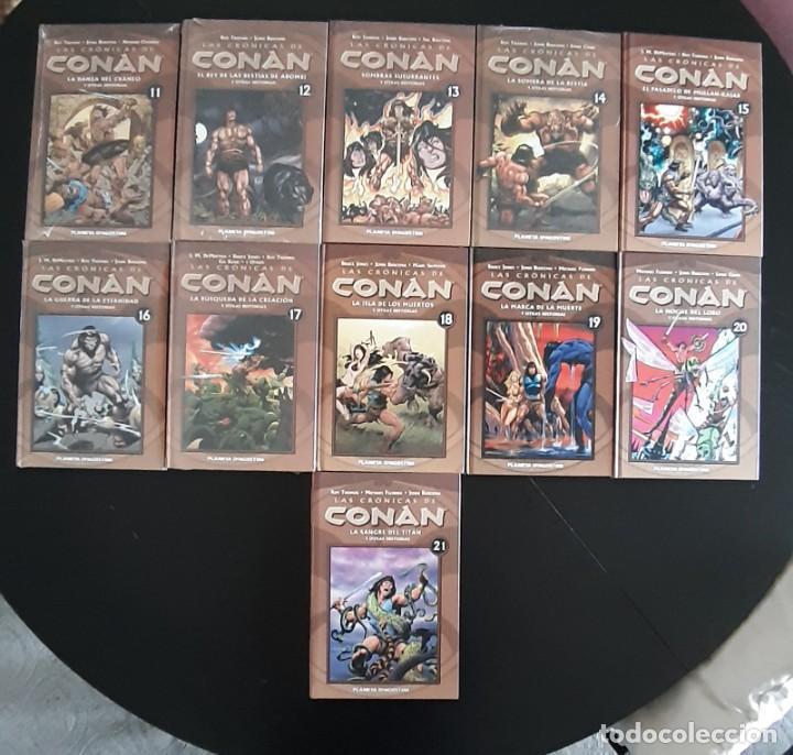 Cómics: Las cronicas de conan de fórum y planeta obra completa 34 números - Foto 2 - 262335700