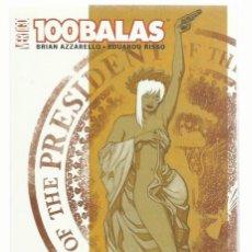 Cómics: 100 BALAS: ÉRASE UNA VEZ UN CRIMEN, 2007, PLANETA DEAGOSTINI, MUY BUEN ESTADO. Lote 262700770