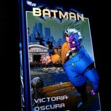 Cómics: DE KIOSCO BATMAN 09 VICTORIA OSCURA 2° PARTE COMICS PLANETA DC 75 TOMO TAPA DURA. Lote 262706380