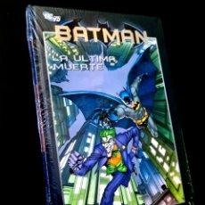 Cómics: DE KIOSCO PRECINTADO BATMAN 45 LA ULTIMA MUERTE COMICS PLANETA DC 75 TOMO TAPA DURA. Lote 262707160