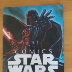 Cómics: FOLLETO COLECCION COMICS STAR WARS PLANETA - DESPLEGABLE CON CRONOLOGIA Y MAS (A). Lote 262709125