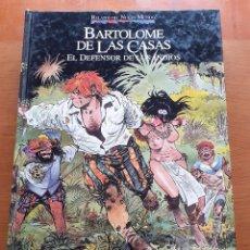 Cómics: RELATOS DEL NUEVO MUNDO. BARTOLOMÉ DE LAS CASAS. EL DEFENSOR DE LOS INDIOS.. Lote 262717330