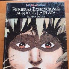 Cómics: RELATOS DEL NUEVO MUNDO. PRIMERAS EXPEDICIONES AL RIO DE LA PLATA. Lote 262717470