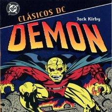 Cómics: JACK KIRBY DEMON CLASICOS DC PLANETA OBRA COMPLETA: 368 PAGINAS. Lote 262957525