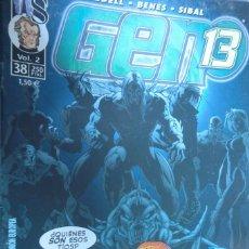 Cómics: GEN 13 WILDSTORM VOLUMEN 2 NÚMERO 38. LOBDELL - BENES - SIBAL. Lote 263765425
