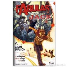 Cómics: JACK DE FABULAS JACK DE FABULAS LA (CASI) GRAN EVASIÓN. Lote 264737624