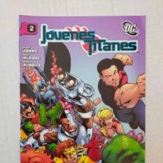 Comics: JÓVENES TITANES Nº 2, POR JOHNS, MCKONE, ALQUIZA. Lote 265956298