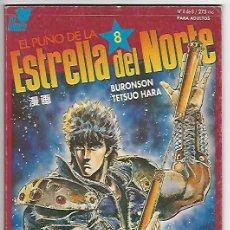 Comics : PLANETA. EL PUÑO DE LA ESTRELLA DEL NORTE. MANGA. 8. Lote 266689568