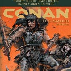 Cómics: CONAN EL CIMMERIO. INTEGRAL 648 PGNS. PLANETA. TAPA DURA.TIMOTHY TRUMAN, RICHARD CORBEN, JOE KUBERT. Lote 266840299