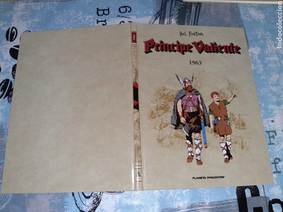 PRÍNCIPE VALIENTE 1963, PLANETA DEAGOSTINI (Tebeos y Comics - Planeta)