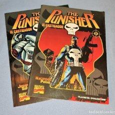 Cómics: 2 EJEMPLARES THE PUNISHER MARVEL COMICS PLANETA DE AGOSTINI. Lote 267713829