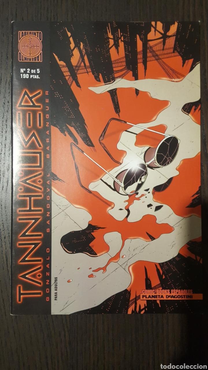 Cómics: Comics - Tannhauser #1, 2, 3, 4 y 5 (completa) - Gonzalo, Sandoval, Baranguer - Laberinto - Planeta - Foto 4 - 268462364