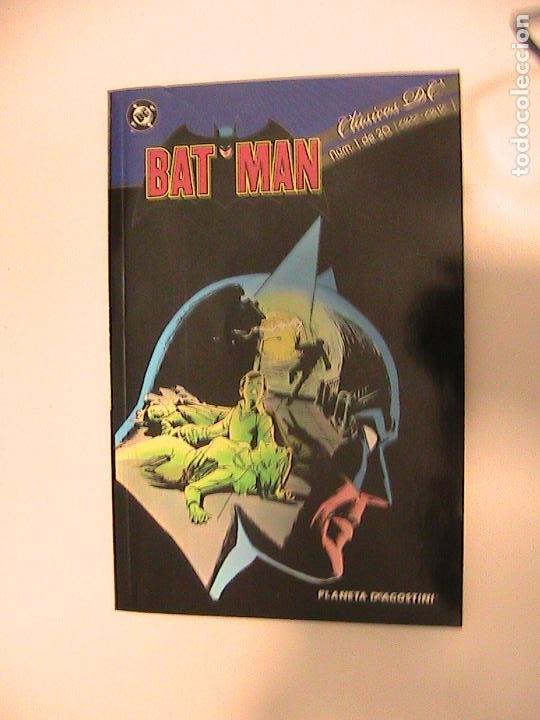 CLÁSICOS DC. BATMAN Nº 01. PLANETA. (Tebeos y Comics - Planeta)