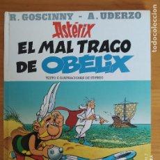 Cómics: ASTERIX EL MAL TRAGO DE OBELIX - GOSCINNY / UDERZO - PLANETA JUNIOR - TAPA DURA (A). Lote 268958034