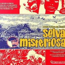 Cómics: SELVA MISTERIOSA / JAVIER FLÓREZ DEL ÁGUILA ED. PLANETA. Lote 268982009