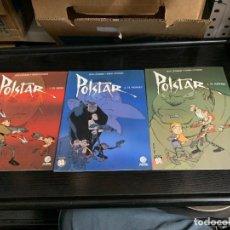 Cómics: POLSTAR, DE JEAN Y SIMON LÉTURGIE. COMPLETA. 3 ALBUMES. Lote 268982019
