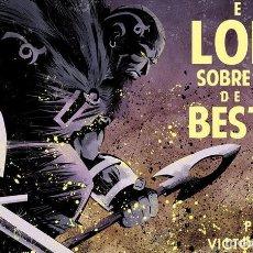 Cómics: EL LOBO SOBRE EL MAR DE LAS BESTIAS / VÍCTOR SANTOS - PERE PÉREZ ED. PLANETA. Lote 268984504