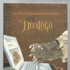 Cómics: EL DECÁLOGO 11: EL UNDÉCIMO MANDAMIENTO, 2005, PLANETA DEAGOSTINI, MUY BUEN ESTADO. Lote 269081228