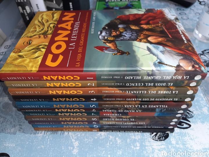 CONAN LA LEYENDA , LOTE DEL 1 AL 11, PLANETA DEAGOSTINI , TAPA DURA (Tebeos y Comics - Planeta)