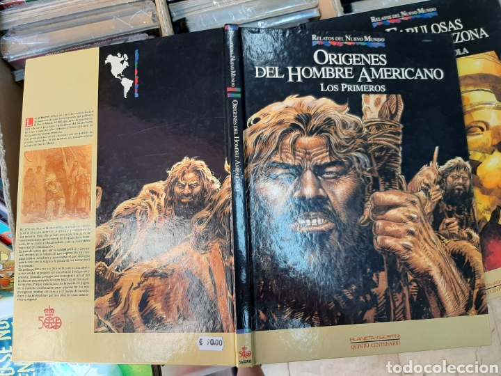 Cómics: Orígenes del hombre americano, Relatos del nuevo mundo n°25 - Foto 3 - 270093838