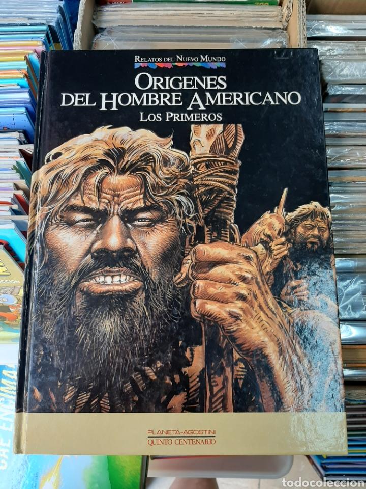 ORÍGENES DEL HOMBRE AMERICANO, RELATOS DEL NUEVO MUNDO N°25 (Tebeos y Comics - Planeta)