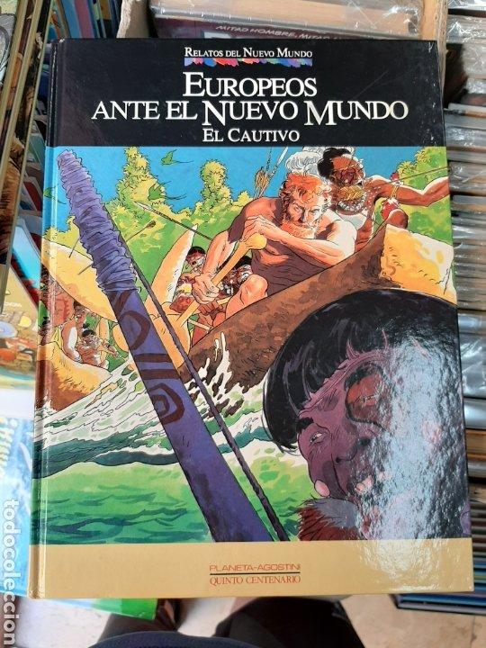 EUROPEOS ANTE EL NUEVO MUNDO, RELATOS DEL NUEVO MUNDO, N° 21 (Tebeos y Comics - Planeta)