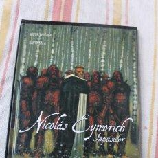 Cómics: NICOLAS EYMERICH INQUISIDOR Nº 2: LA DIOSA ; JORGE ZENTNER DAVID SALA;. Lote 270096913