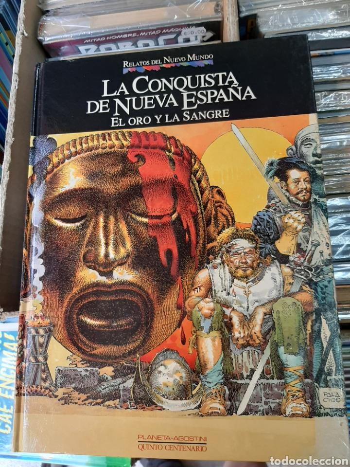 LA CONQUISTA DE NUEVA ESPAÑA, RELATOS DEL NUEVO MUNDO N° 11 (Tebeos y Comics - Planeta)