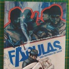 Cómics: FÁBULAS UNA HISTORIA DE AMOR PLANETA VERTIGO TOMO TAPA BLANDA. Lote 270345848