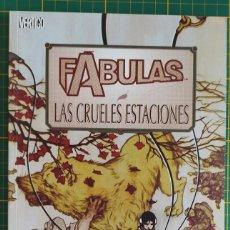 Cómics: FÁBULAS LAS CRUELES ESTACIONES PLANETA VERTIGO TOMO TAPA BLANDA. Lote 270345998