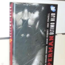 Cómics: SUPERMAN ULTIMO HIJO GEOFF JOHNS & RICHARD DONNER TOMO CARTONÉ DC - PLANETA OFERTA. Lote 270604598
